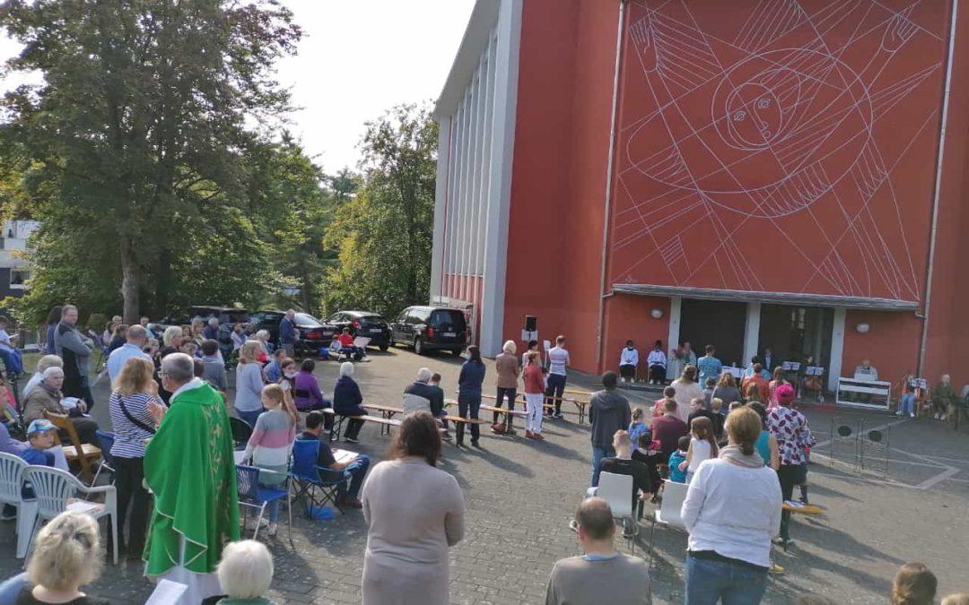 Start der Erstkommunionvorbereitung in den Pfarreien Heilige Familie und St. Marien, Freudenberg